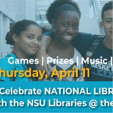 Celebrate National Library Week with the NSU Libraries at the UC Takeover
