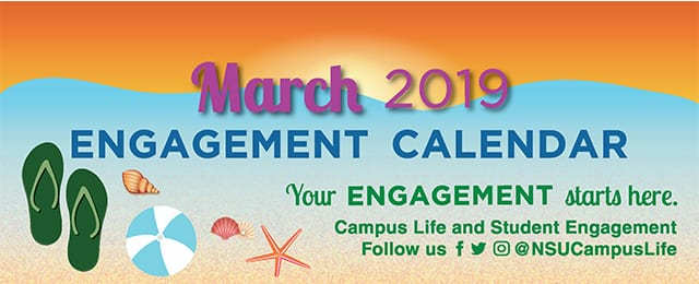 March 2019 Calendar of Events