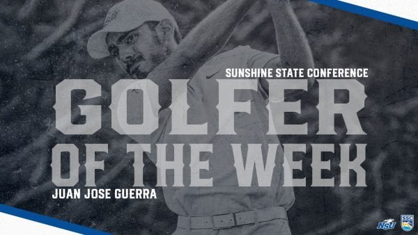 Guerra Takes Home SSC Men's Golfer of the Week Award