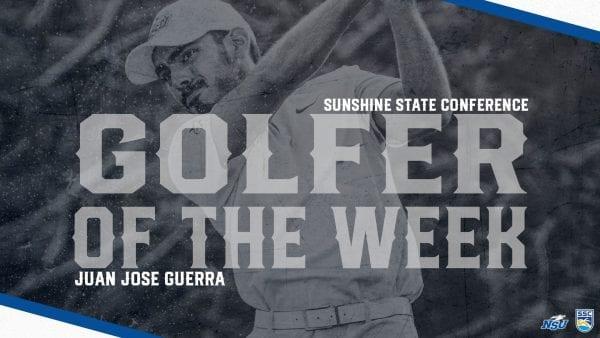 Guerra Awarded SSC Men's Golfer of the Week