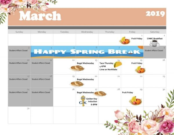 Palm Beach--Calendar of Events for March 2019