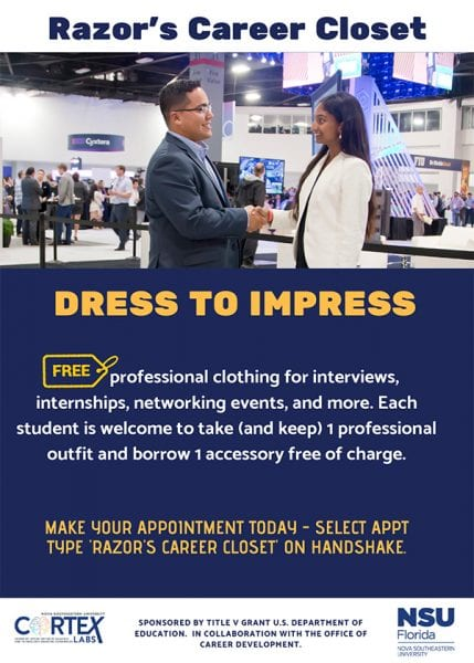 Razor's Career Closet - Dress to Impress