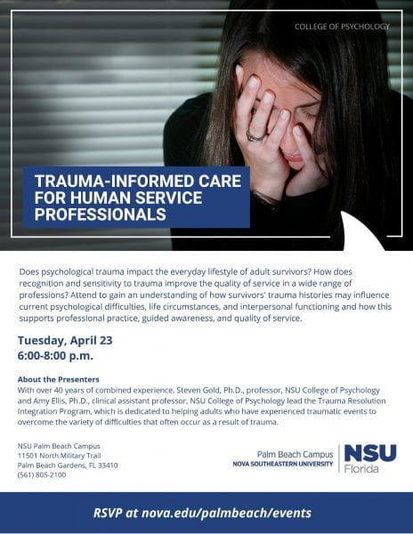 Trauma-Informed Care for Human Service Professionals
