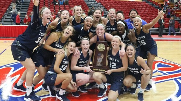 ELITE EIGHT BOUND: Sharks Take Down No. 1 Seed Florida Southern For South Region Crown