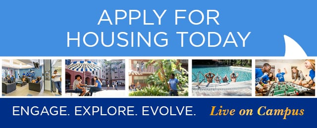 Engage. Explore. Evolve. Live on Campus