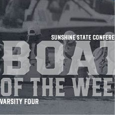 NSU Rowing's Varsity Four Receives SSC Boat of the Week Honors