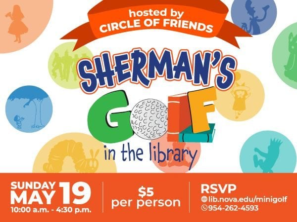 Sherman's Golf in the Library