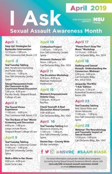 I Ask - Sexual Assault Awareness Month April 2019