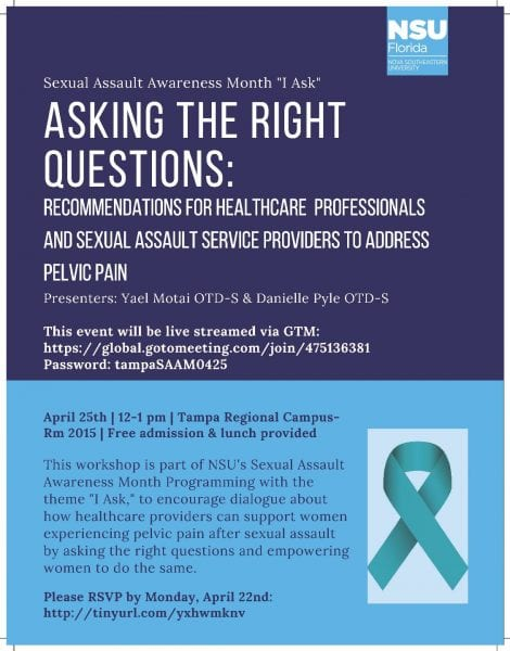 Asking the Right Questions: Recommendations for Healthcare Professionals and Sexual Assault Service Providers to Address Pelvic Pain