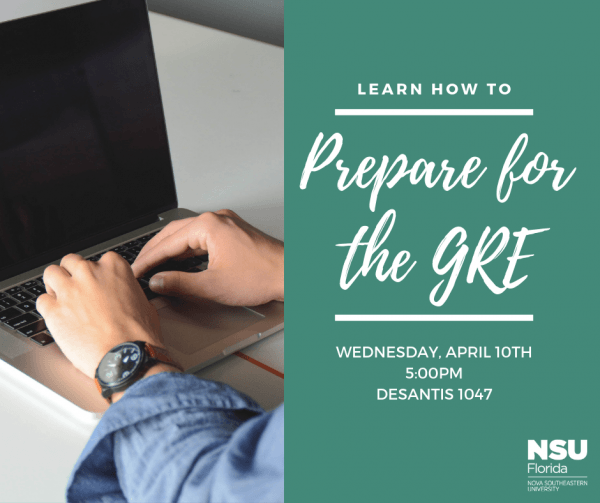 Prepare for the GRE - Apr. 10