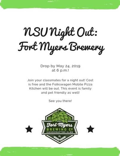 NSU Night Out Brewery