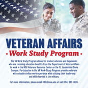 Veterans Affairs Work Study Program