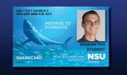 New NSU SharkCard Wins National Best Card Design Award