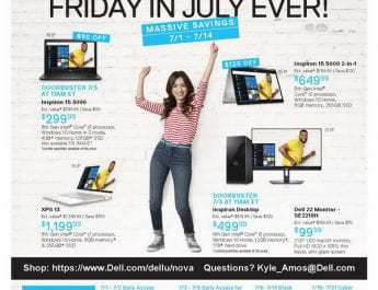 Dell Deal for NSU students – Black Friday in July