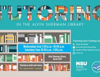 Fall 2019 Tutoring at Sherman Library