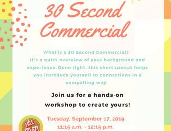 30 Second Commercial (Sept.17)