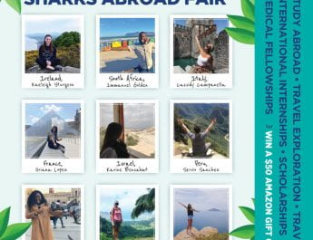 Fall 2019 Sharks Abroad Fair (Sept. 17)