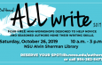 3rd Annual All Write (Oct. 26)