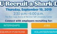 Fall 2019 Recruit a Shark Day (Sept. 19)