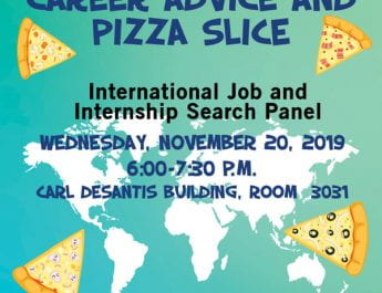 Career Advice and Pizza Slice (Nov. 20)