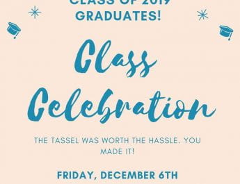 Miami- Class Celebration Save the Date (Dec. 16)