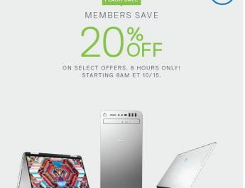 Dell Deal for NSU students, Flash Sale (Oct. 15)