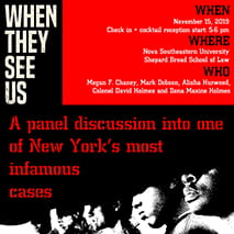 "2019 BLSA ""When They See Us"" Panel (Nov. 15)"
