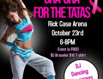 Cha-Cha for the Tatas (RSVP required. Event Date: Oct. 23)