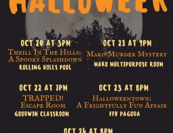 2019 HalloWeek Extravaganza (Oct. 20-24)