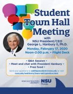 Student TownHall Meeting