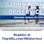 NSU's Global Day of Service (Jan. 24-26)