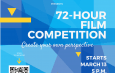 72-hour Film Competition (Register today)