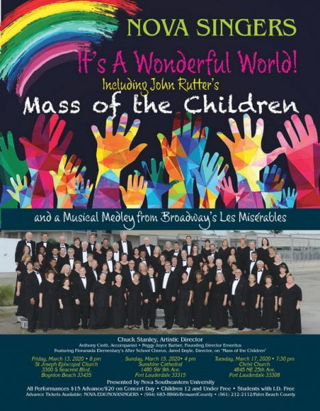 Mass of Children Nova Singer Concerts