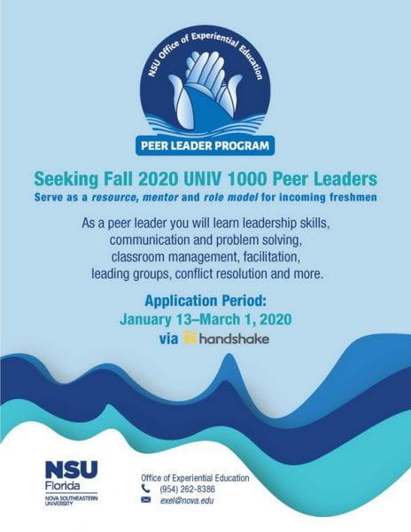 peer leader application