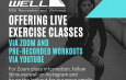NSU Recreation and Wellness Now Offering Live Exercise Classes via Zoom