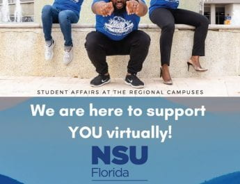 Regional Campus Students – your Student Affairs team is here to support YOU virtually!