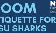 Zoom Etiquette for NSU Sharks