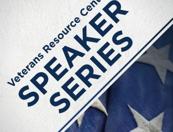 UPDATED: Veterans Resource Center Speaker Series Hosted via Zoom (April 9 and 23)
