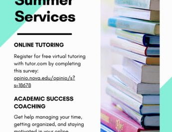 Tutoring and Testing Center Summer Services