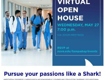 NSU Tampa Bay Regional Campus Virtual Open House (May 27)