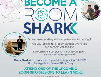 Become a Room Shark (Info. Sessions on June 23, 24 and 26)