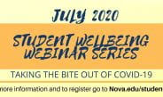 Student Well-Being Webinar Series (July Schedule)