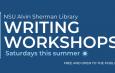 NSU Alvin Sherman Library Online Writing Workshops (Saturdays this summer)