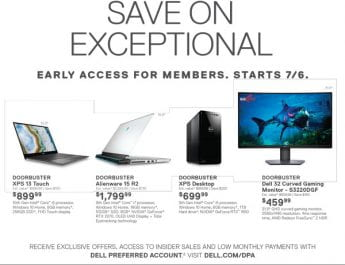 Dell's Cyber Week Doorbusters and Deals for NSU Students, Faculty and Staff