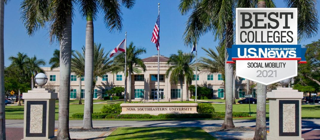 NSU Makes Significant Gains in U.S. News and World Report 2021 College Rankings