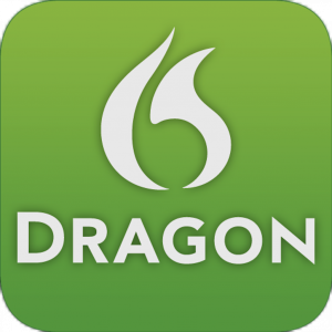dragon dictation app logo