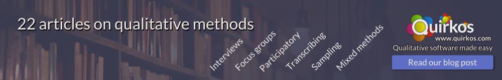 22 Articles on Qualitative Methods