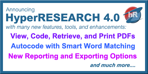 HyperRESEARCH 4.0