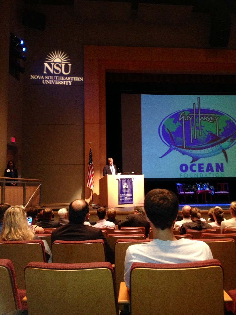 On Sept 23 The H Wayne Huizenga School Of Business And Entrepreneurship As Part Its Distinguished Lecture Series Welcomed Marine Wildlife Artist