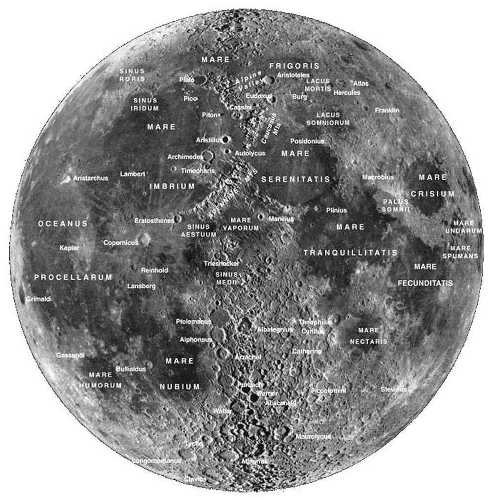 map of moon landings - photo #23